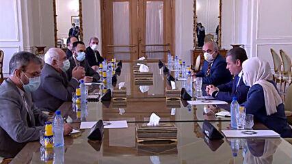 Iran: Zarif welcomes Russian Duma's Foreign Affairs Cmte head Slutsky for talks