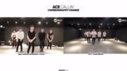 Ace - Callin Choreography Change Comparison