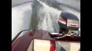 лодка 14ft team picton , 55hp mariner