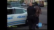 Ръкопашен бой с полицай