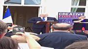UK: Boris Johnson booed during address to French community in London