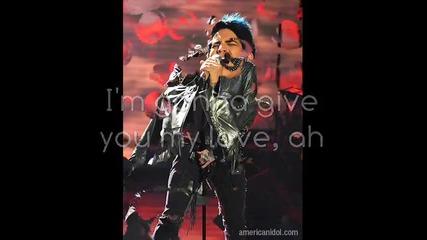 Превод!! Adam Lambert - Whole Lotta Love