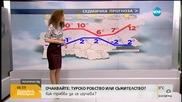 Прогноза за времето (27.01.2016 - сутрешна)