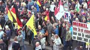 Germany: Pegida march met by counter-demo in Dresden