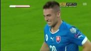Украйна 0:1 Словакия 08.09.2014