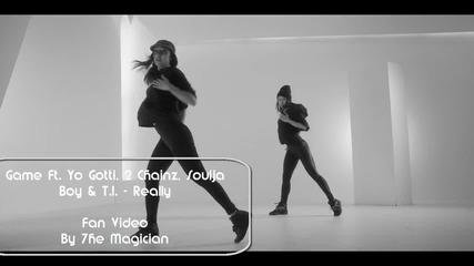 Премиера •» Game Ft. Yo Gotti, 2 Chainz, Soulja Boy & T I - Really •» Фен Видео • 2014