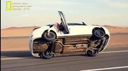 Луд арабин сменя гума докато кара на две колела