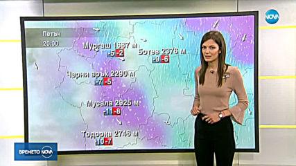 Прогноза за времето (22.02.2019 - сутрешна)