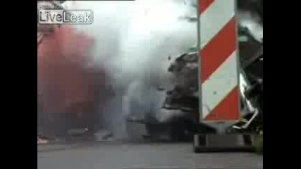 Truck Vs Truck - Crash Test