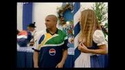 Реклама На Пепси С Звездите На Футбола