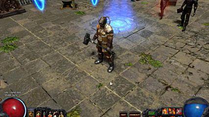 Герой в играта Path Of Exile_marauder+berserker