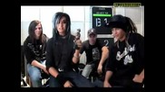 08.01.26 - Nrj Interview Tokio Hotel Благодарят На Феноветe 2008