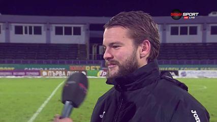 Велко Батрович: Не е за първи път да вкарам такъв гол