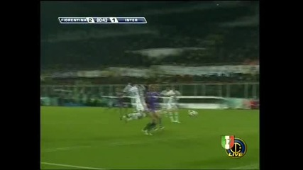 Highlights : Fiorentina - Inter 2:2