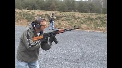 Български Ak-74 автоматична стрелба Full Auto