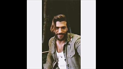 Look how cute he is when he turns the camera at the end of a story and shows himself Canyaman