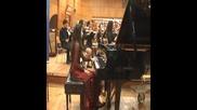 Концерт за пиано и оркестър №1 в ре минор Й.с.бах(bwv 1052) Александра Симеонова и камерата Арденца
