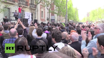 Spain: Protesters demand justice for cameraman killed by US Army