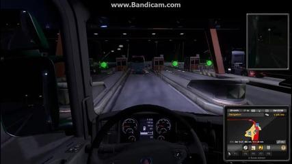 Euro truck simulator 2 gameplay епизод 1 - Слушаме малко музика от радио
