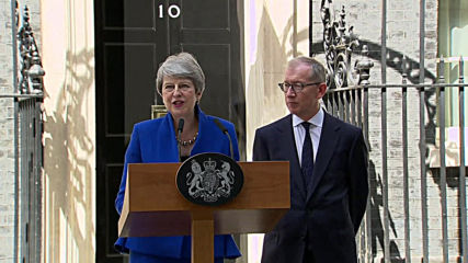 UK: Theresa May bids farewell in her final speech as Prime Minister