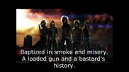 Black Veil Brides - Youth And Whiskey [ Lyrics ]