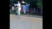 Inward heelflip 13 years old Bulgaria (skate)