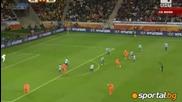 1/2 финали Уругвай - Холандия 2 - 3
