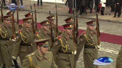 Смяна на караула Веселин Маринов
