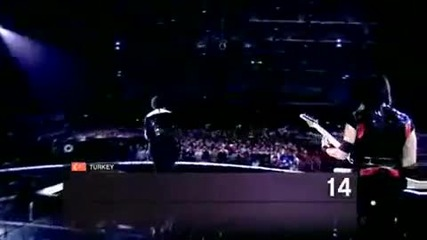 Второ място на Евровизия 2010 - Турция - Manga - We Could Be The Same • turcia eurovision 2010 manga