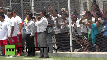 Panama: Watch Evo Morales show off his silky footballing skills