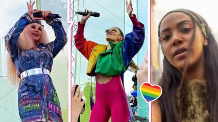 Ето кои БГ звезди подкрепиха Sofia Pride! Цветни, свежи и със силни послания