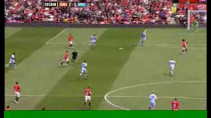 Tevez 2:0 - Man Utd v Man City.avi