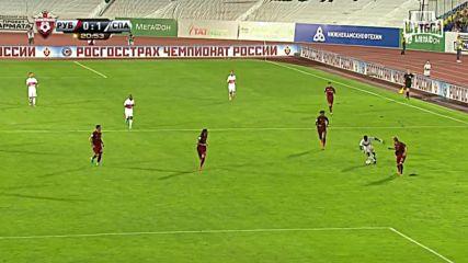 Ивелин Попов с прекрасен гол за Спартак Москва срещу Рубин