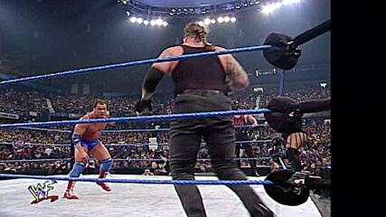 "The Rock, ""Stone Cold"" Steve Austin & The Undertaker vs. Kurt Angle, Kane & Rikishi: SmackDown, Jan. 18, 2001 (Full Match)"