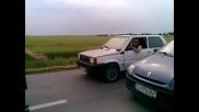 Не се закачай с Fiat Panda На пътя