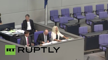 Germany: Bundestag approves third Greek bailout