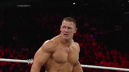 John Cena vs. Luke Harper: Raw, March 24, 2014