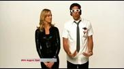Chuck и Sarah Walker 3d Glasses - Virgin Promo