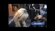Lindsay Lohan Leaving Ken Paves
