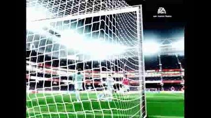 Гол със Sagna на Fifa 09
