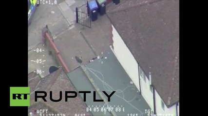UK: Helicopter footage shows machete-wielding man on deadly rampage