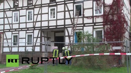 Germany: Suspected arson attack hits Thuringia refugee shelter