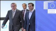 EU President Vigorously Shames Greek Government at G7 Summit