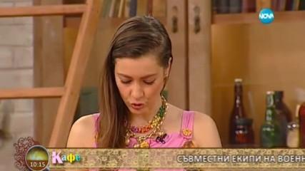 """В """"На кафе"""" гостуват Мария Гроздева и Гери Дончева на Олимпийския ден"""
