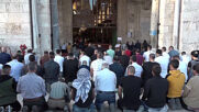 East Jerusalem: Worshippers attend Eid al-Fitr prayers at Al-Aqsa Mosque amid ongoing tensions