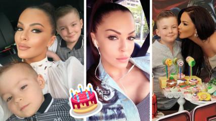 Първородният син на Галена стана на 10 годинки! Вижте кадри от чудното парти