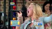 Demi Lovato - Give Your Heart A Break (good Morning America 2012)