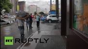 Ukraine: Bomb blast hits Poroshenko-owned Roshen sweet shop