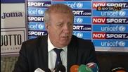 Томов: Цска ще тръгне по пътя на Лудогорец, защото мястото ни е в Шампионска лига