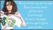 Cher Lloyd - Just be mine (lyrics)